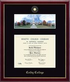 Church Hill Campus Scene Galleria Colby Diploma Frame