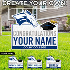 Colby College Customizable Lawn Sign