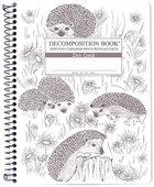Decomp Spiral HEDGEHOGS Coilbound - Dot Grid