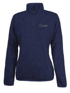 Charles River Heathered Quarter Zip for Women