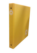 """Binder Colby 1"""" YELLOW"""