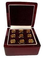 CSI Men's Colby Seal Blazer Button Set