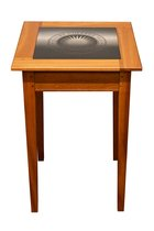 Vermont Table Co. Cherry & Granite Colby Seal Table
