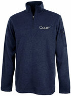Charles River Colby Heathered Quarter Zip