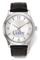 Bulova Colby Round Watch with Leather Band for Men