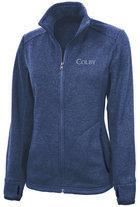 Charles River Heathered Sweater Fleece Zip Jacket for Women