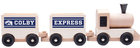 Neil Colby Express Wooden Toy Train