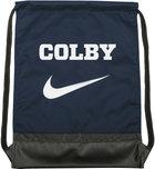 Nike Colby Brasilia Drawstring Shoulder Back Sack - Navy Blue