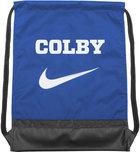 Nike Colby Brasilia Drawstring Shoulder Back Sack - Royal Blue