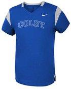 Nike Colby Short Sleeve Fan V-neck T-shirt for Girls
