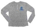 Spirit Jersey Brushed Henley Long Sleeve Shirt for Women