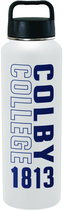 H2Go Colby College Titan Vacuum Insulated Water Bottle with Handle Lid
