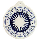 Deneen Pottery Colby Seal Holiday Ornament