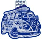 Blue84 Colby Bus Decal