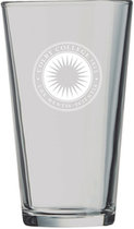Colby Etched Seal Pint Glass