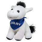 Mascot Factory Colby White Mule Palm Pal