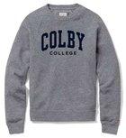 League Colby College Heritage Tri-Blend Crew Neck Sweatshirt