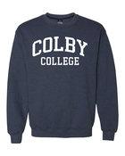 MV Colby College Crew Neck Sweatshirt