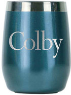 EcoVessel Colby PORT Insulated Wine Tumbler Blue