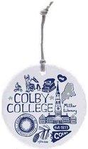Colby College Julia Gash Ornament