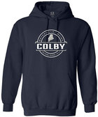 Colby Embroidered Waterville Maine Hooded Sweatshirt