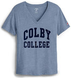 League Colby College Intramural V-neck T-shirt for Women